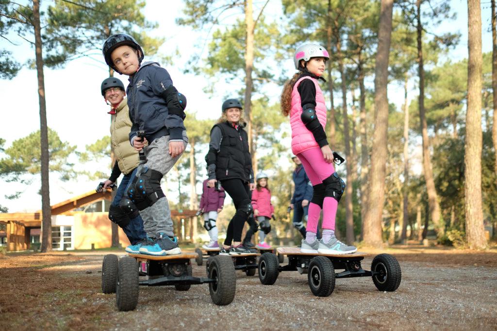 Skate électrique tout terrain dès 6 ans